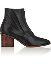 Zero + Maria Cornejo - Sera Leather Ankle Boots - Lyst