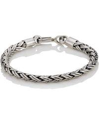 Caputo & Co. - Sterling Silver Spiga Chain Bracelet - Lyst