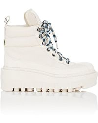 Marc Jacobs - Crosby Leather Platform Ankle Boots - Lyst