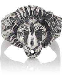 Loren Stewart - Lion Signet Ring - Lyst