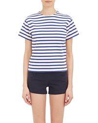 NLST - Stripe true T-shirt - Lyst