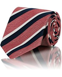 Bigi - Striped Silk - Lyst