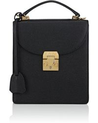 Mark Cross - Uptown Leather Crossbody Bag - Lyst