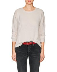 ATM - Striped Cashmere Elongated Sweater - Lyst