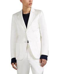 Sies Marjan - Roger Satin Two-button Sportcoat - Lyst