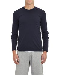 James Perse - Jersey Long Sleeve T - Lyst