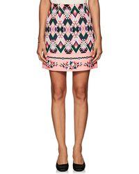 Vivetta - Sharja Crepe Miniskirt - Lyst