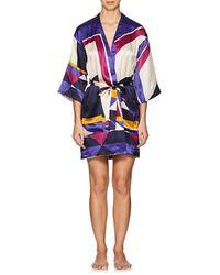 Eres - Artwork Museum Silk Kimono-00713 - Lyst