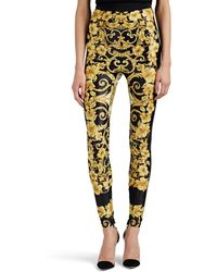 Versace - Hibiscus-print High - Lyst
