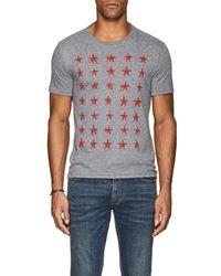 John Varvatos - Star-print Slub Jersey T - Lyst