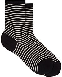 Antipast - Striped Cotton-blend Mid - Lyst