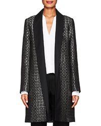 Officine Generale - Lydia Jacquard Kimono Jacket Size 36 Fr - Lyst