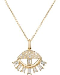 Ileana Makri | Sleepy Eye Pendant Necklace | Lyst