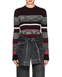 Proenza Schouler - Striped Wool-blend Sweater - Lyst