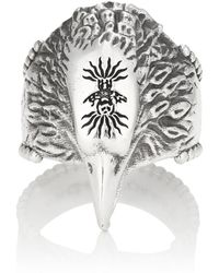 Gucci - Anger Forest Eagle-head Ring - Lyst