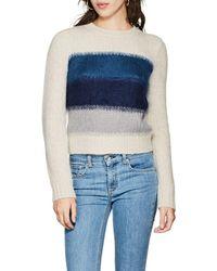 Rag & Bone - Holland Wool-blend Crop Jumper - Lyst