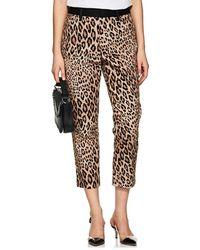 FRAME - Cheetah-print Moleskin High - Lyst