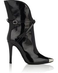 Philosophy Di Lorenzo Serafini - Metal-toe Leather Ankle Boots - Lyst