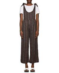 Ace & Jig - Johnny Geometric-pattern Cotton Jumpsuit - Lyst