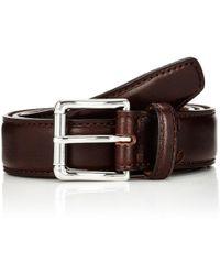 Barneys New York - Leather Belt - Lyst