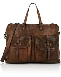 Campomaggi - Leather Briefcase - Lyst