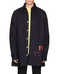 Raf Simons - 11 Denim Oversized Shirt Jacket - Lyst