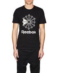 Reebok - Bny Sole Series: Star Crest Logo Cotton T - Lyst