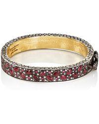 Sevan Biçakci - Ruby & White Diamond Bangle - Lyst