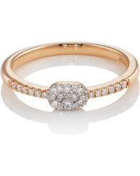 Sara Weinstock - Reverie Cushion Cluster Ring - Lyst