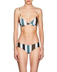 Mikoh Swimwear - Belize Triangle Bikini Top - Lyst