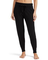 Morgan Lane - Hailey Metallic-trimmed Cashmere Jogger Pants - Lyst