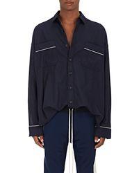 Fear Of God - Cotton Twill Pajama Shirt - Lyst