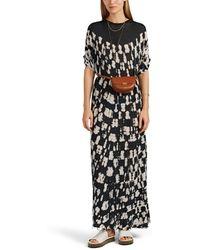 Raquel Allegra - Tie-dyed Cotton Jersey Caftan Dress - Lyst