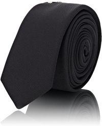 Saint Laurent - Studded Silk Necktie - Lyst