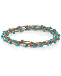 Feathered Soul - #touch Wrap Bracelet - Lyst