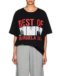 MM6 by Maison Martin Margiela - best Of Margiela Six Cotton T-shirt - Lyst