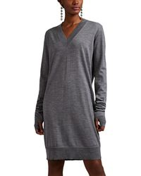 Maison Margiela - Fine-gauge Knit Wool Sweaterdress - Lyst