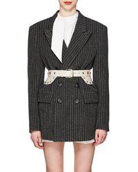 Isabel Marant - Jaxen Striped Wool-blend Tweed Double - Lyst