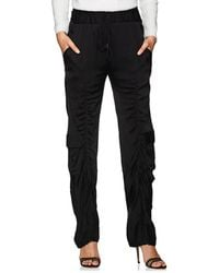 Manning Cartell - Off Duty Ruched Tech-satin Pants - Lyst