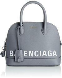 Balenciaga - Ville Leather Bowling Bag - Lyst