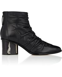 Zero + Maria Cornejo - Sonia Leather Ankle Boots - Lyst