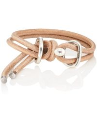 Giles & Brother - Leather Wrap Bracelet - Lyst