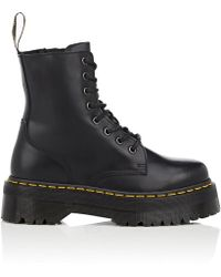 Dr. Martens - Jadon Leather Platform Ankle Boots - Lyst