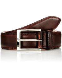 Harris - Burnished Leather Belt - Lyst
