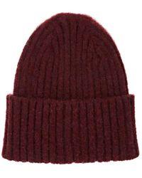 6b30e52a324 Drake s - Rib-knit Lambswool Beanie - Lyst