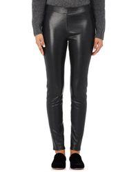Barneys New York - Leather Leggings - Lyst