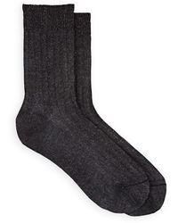Maria La Rosa - Cotton-blend Mid-calf Socks - Lyst