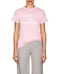 Icons - objects Of Devotion Cotton Jersey T - Lyst