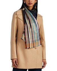 Wallace Sewell - Garrick Striped Silk-wool Scarf - Lyst