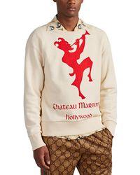 Gucci chateau Marmont Hollywood Cotton Sweatshirt